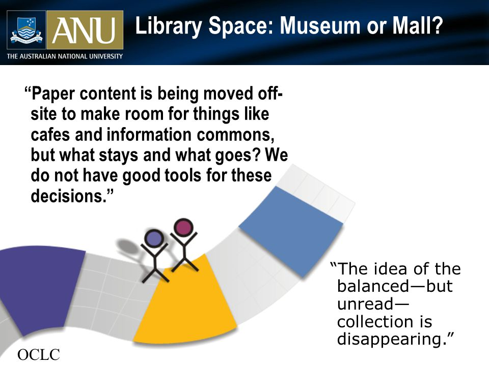 Library Space: Museum or Mall.