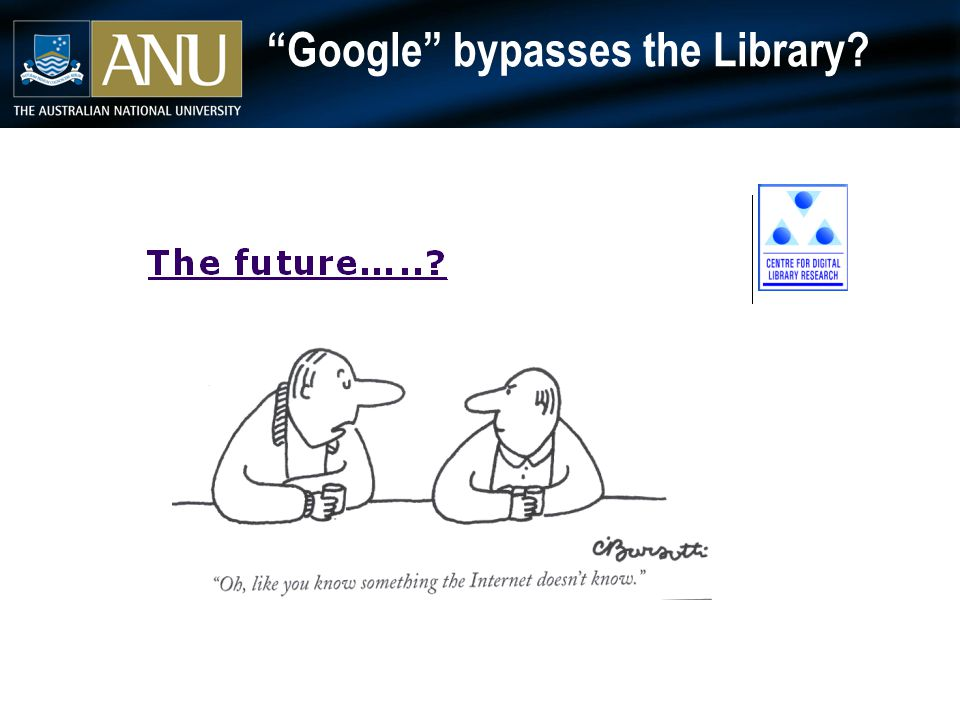 Google bypasses the Library
