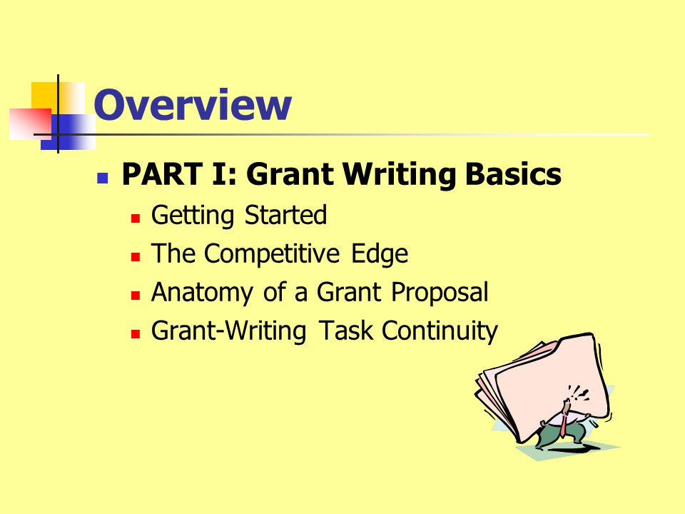 Grant Writing An Introduction Dr. Dale Baker Dr. Louise Vitiello