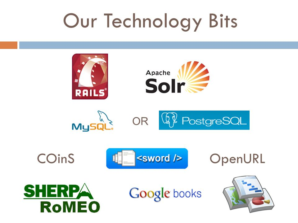 Our Technology Bits COinSOpenURL OR