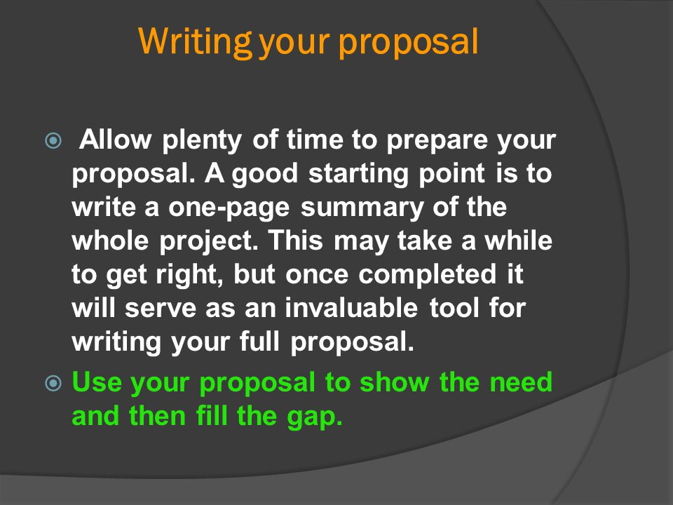 Tips for Writing the Evaluation Section of Your Grant Proposal Ask yourself these questions as you develop the evaluation section of your proposal:  1.What is the evaluation s purpose.