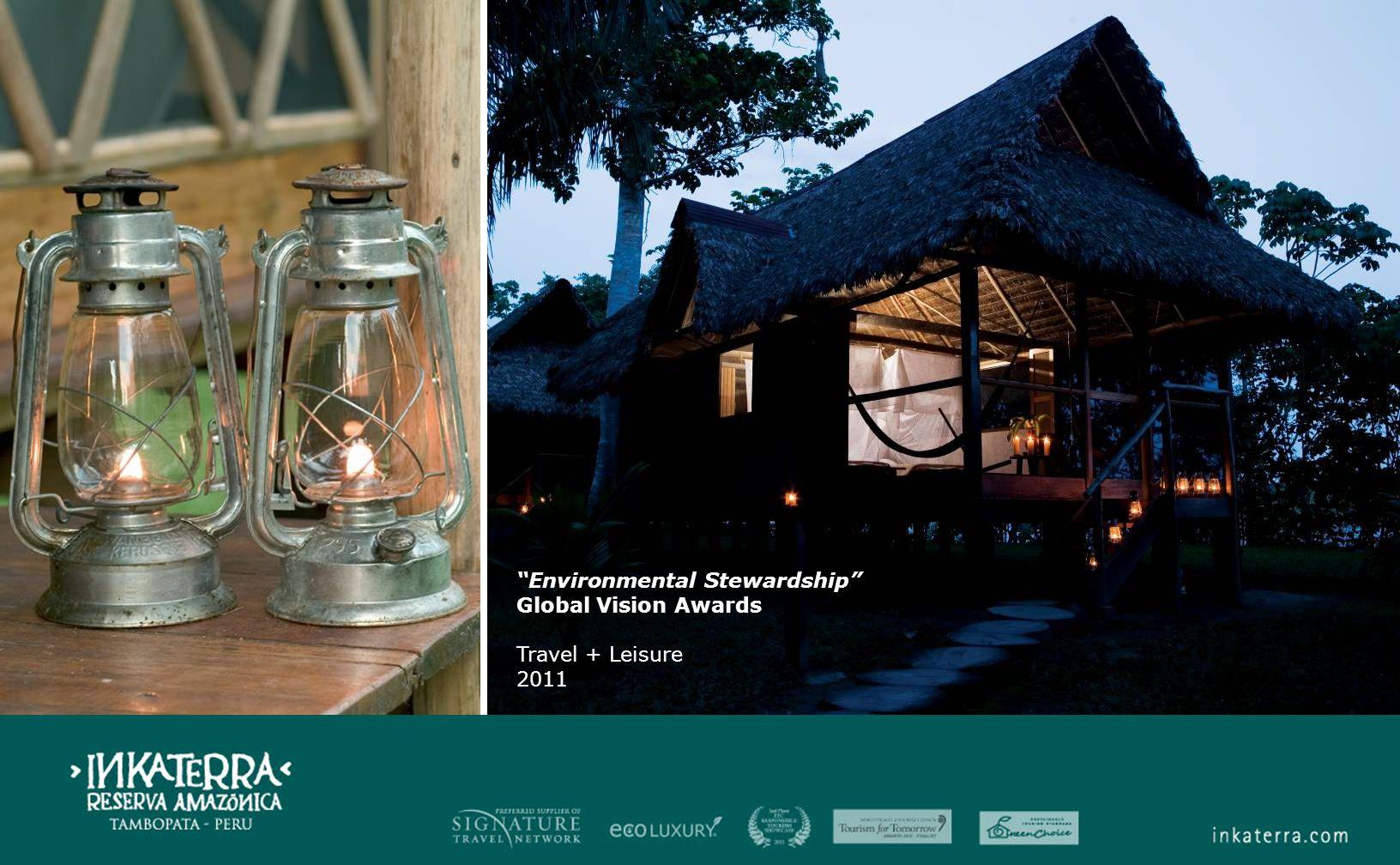 Environmental Stewardship Global Vision Awards Travel + Leisure 2011