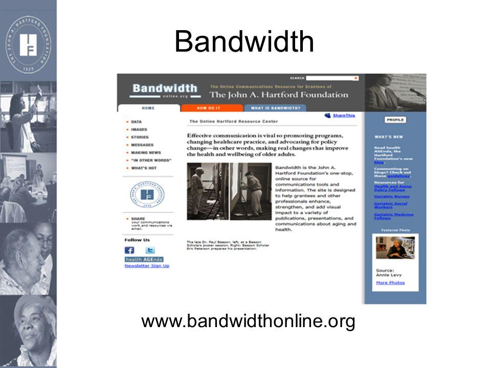Bandwidth www.bandwidthonline.org