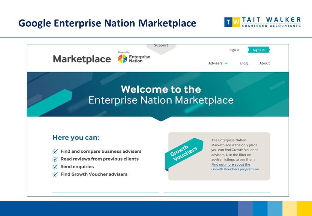 Google Enterprise Nation Marketplace