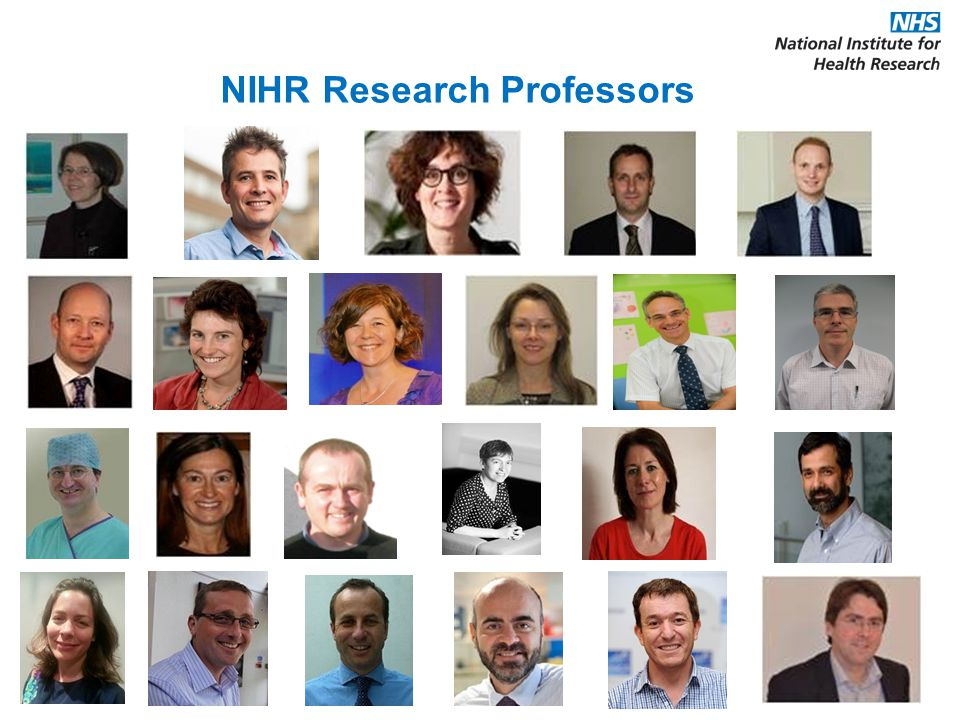 NIHR Research Professors