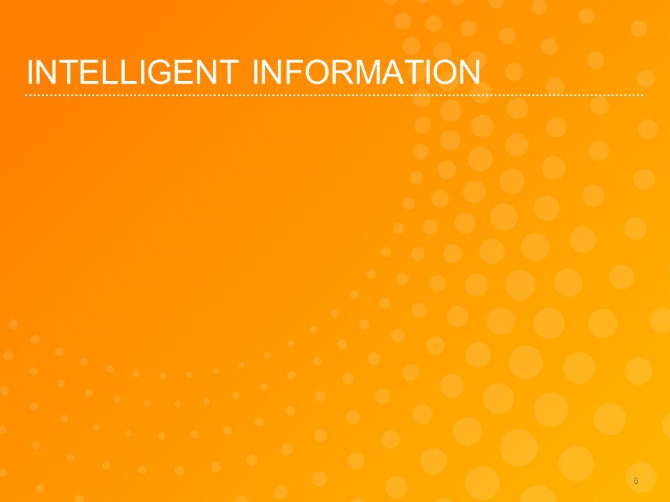 INTELLIGENT INFORMATION 6