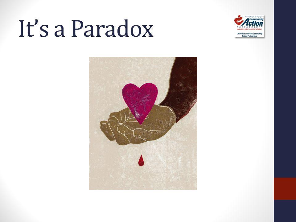 It's a Paradox