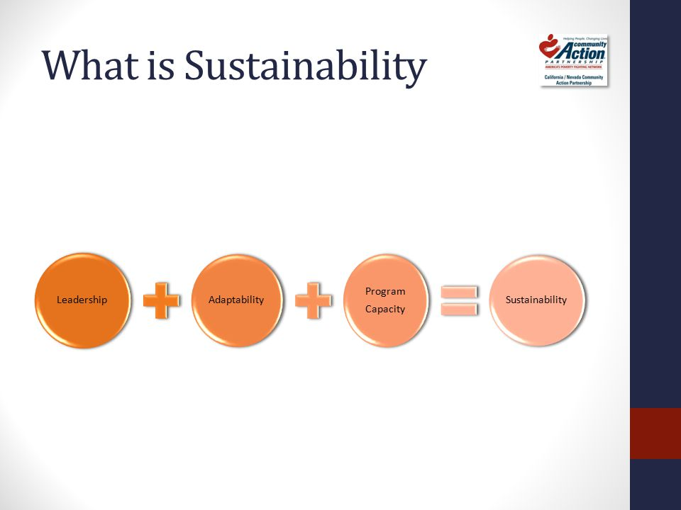 The Sustainability Formula - Leadership