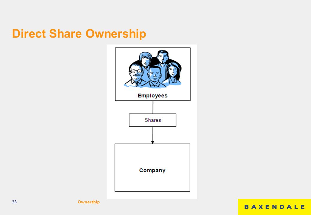 Direct Share Ownership 33Ownership