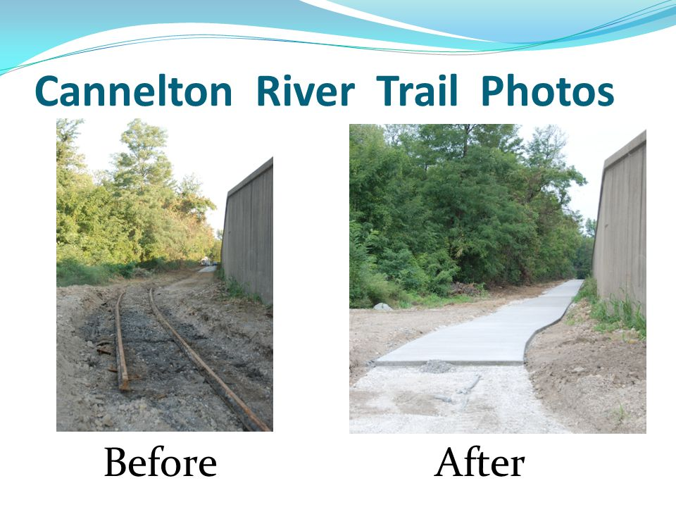 Cannelton River Trail Photos BeforeAfter