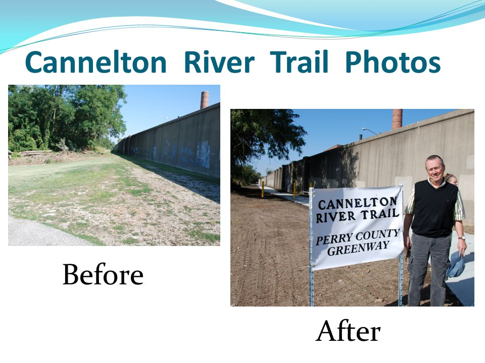 Cannelton River Trail Photos Before After
