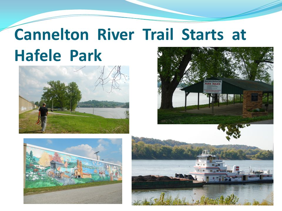 Cannelton River Trail Starts at Hafele Park