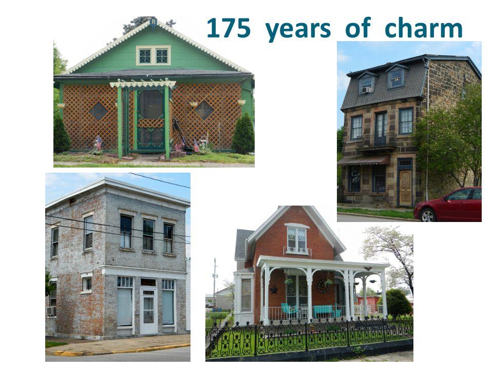 175 years of charm