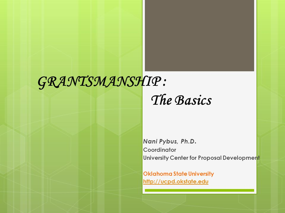 Outline the Proposal Proposer's long-term goal(s) Gap in knowledge or Need Proposal goal/objective – to fill a specified gap Rationale & Significance PI /team's skills, expertise, ability to do the job well Aim 1 Activities/Outcomes Pitfalls/Problems Aim 2 etc.