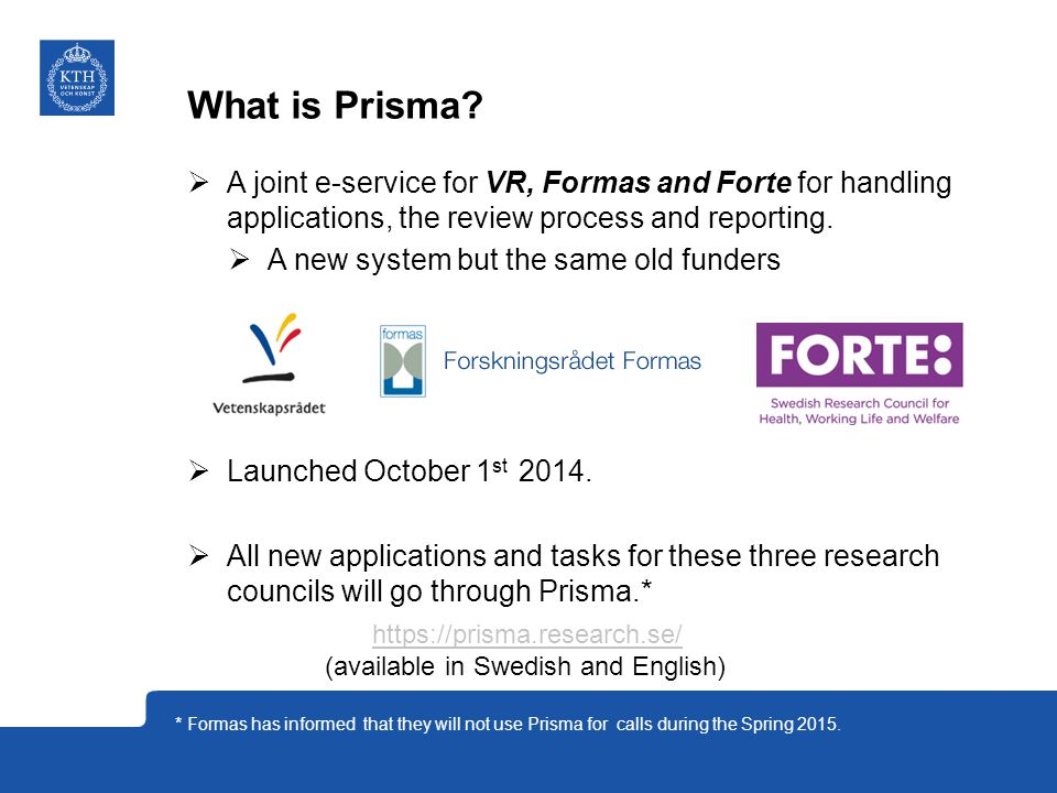 Why Prisma. Creates a shared infrastructure for information.