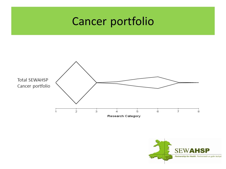 Cancer portfolio Total SEWAHSP Cancer portfolio