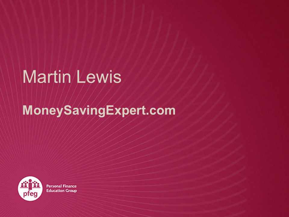 Martin Lewis MoneySavingExpert.com