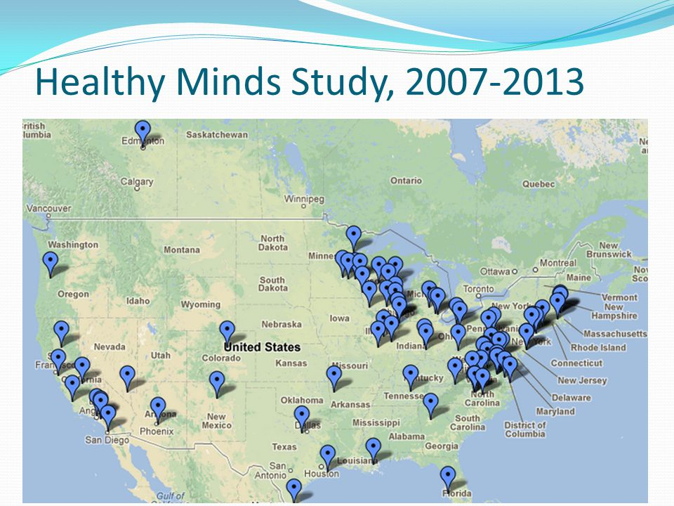Healthy Minds Study, 2007-2013