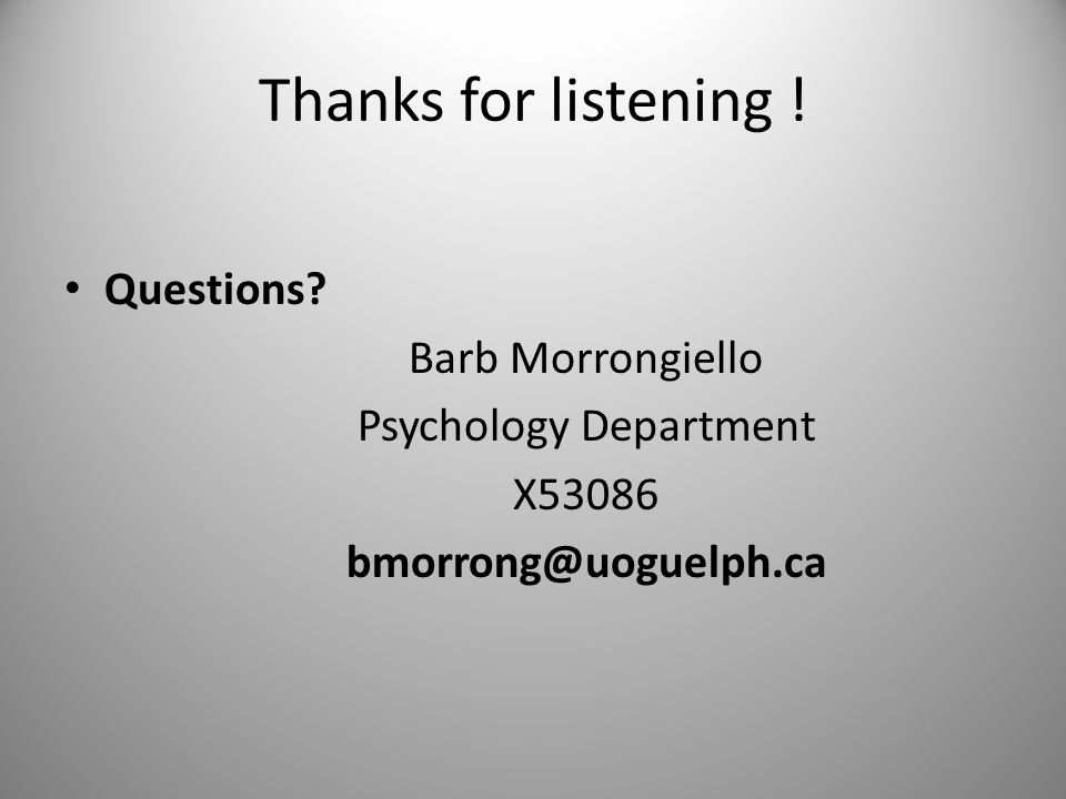 Thanks for listening .Questions.