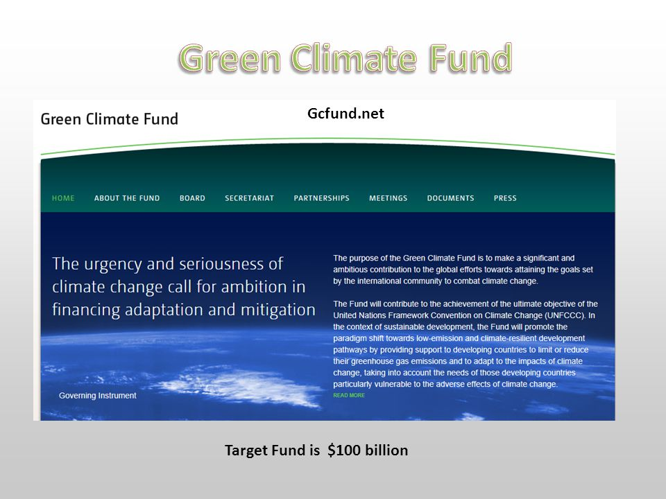 Gcfund.net Target Fund is $100 billion