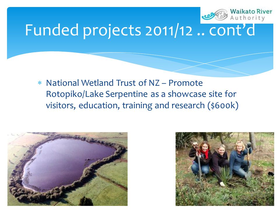 Funded projects 2011/12..