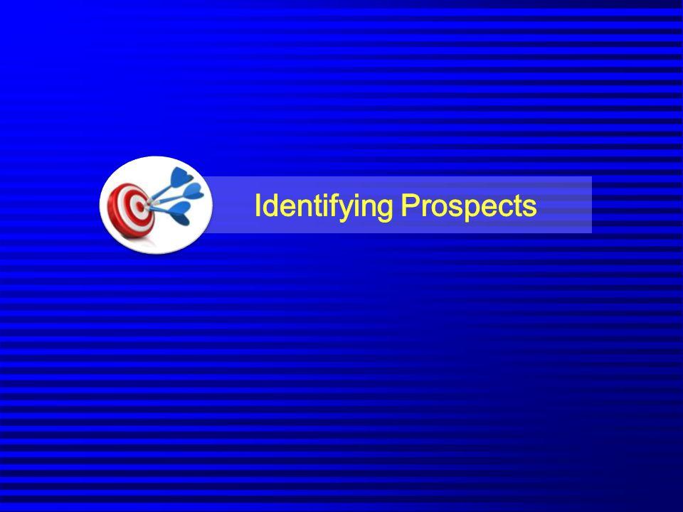 Identifying Prospects