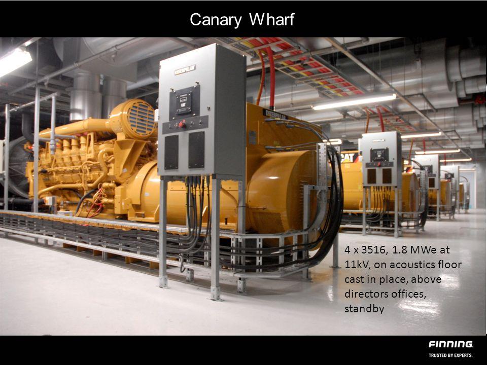 Thames Water – 1.Biogas CHP 6 MWe 2.