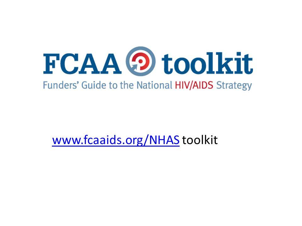 www.fcaaids.org/NHASwww.fcaaids.org/NHAS toolkit