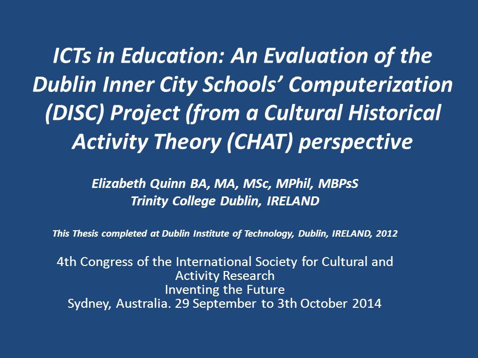 6.Students' interaction - DISC/ICT Enjoyment of technology – social aspect.