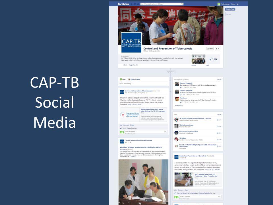 CAP-TB Social Media