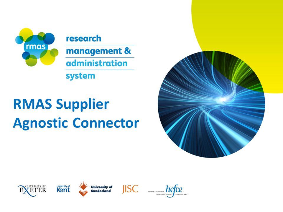 RMAS Supplier Agnostic Connector