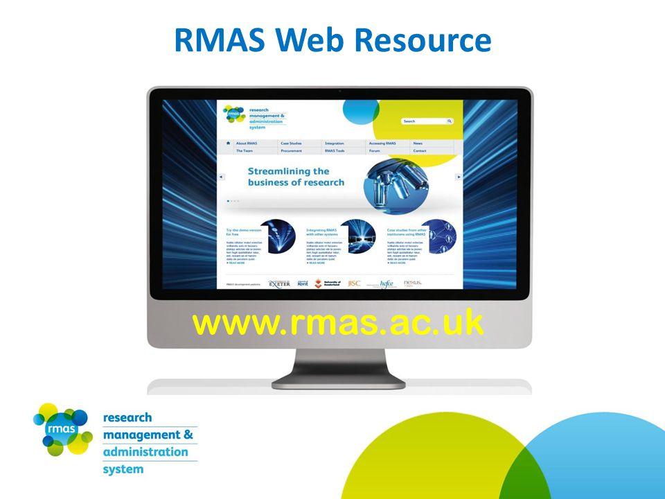 RMAS Web Resource www.rmas.ac.uk