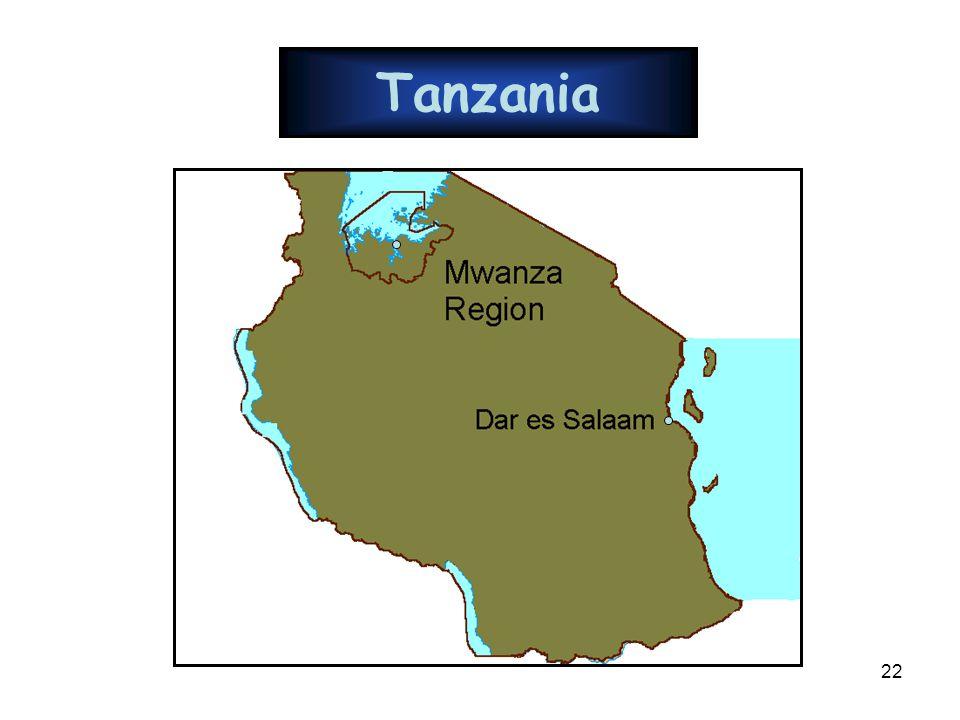 22 Tanzania
