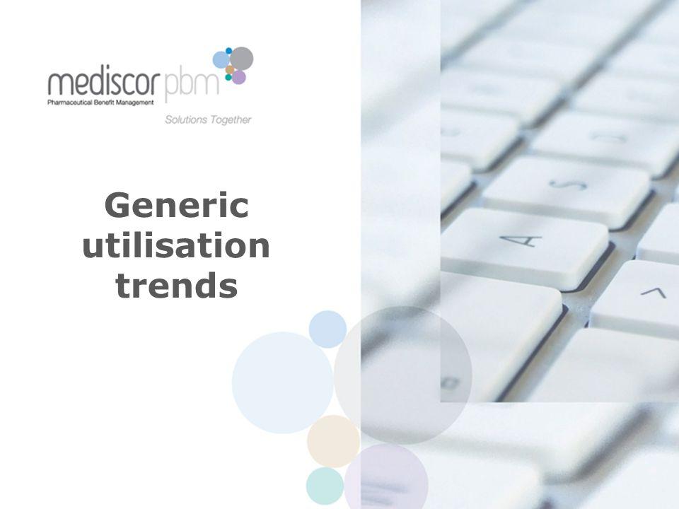 Generic utilisation trends