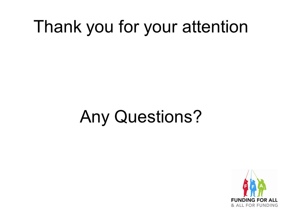 Thank you for your attention Any Questions