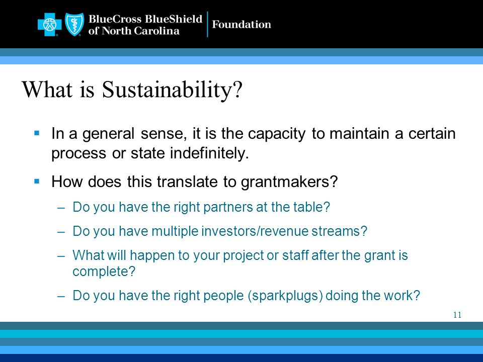 11 What is Sustainability.