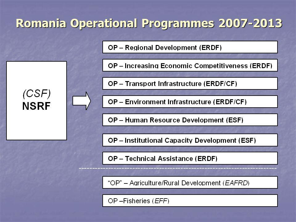 Romania Operational Programmes 2007-2013