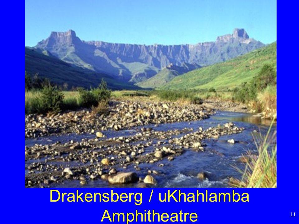 11 Drakensberg / uKhahlamba Amphitheatre