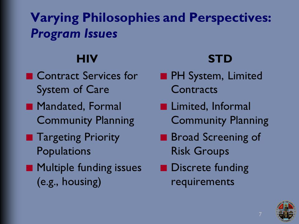28 Local Initiatives and Efforts: STDP Integrated testing in STDP or multi-agency mobile outreaches Piloted STD/HIV Integrated Prevention Services (SHIPS) at selected HIV test sites Piloted syphilis testing with HCT contractor mobile van