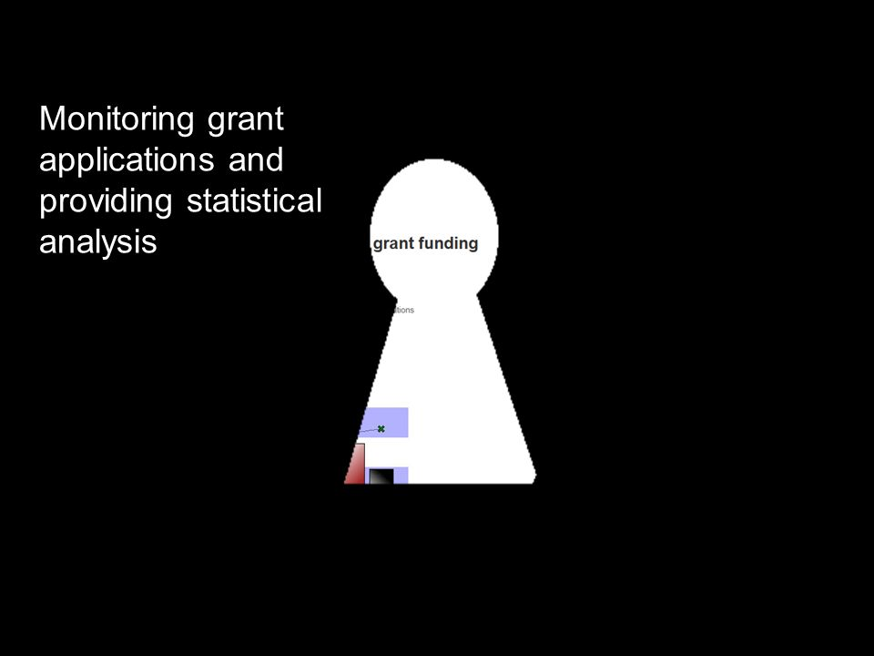Monitoring grant applications and providing statistical analysis