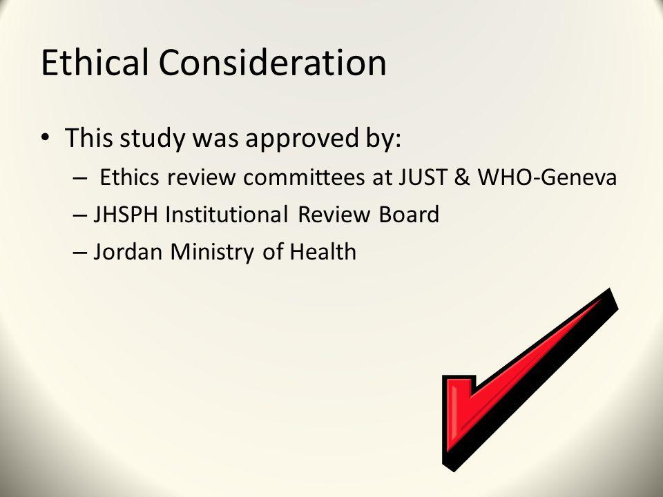 Perceptions of Health Access in Jordan