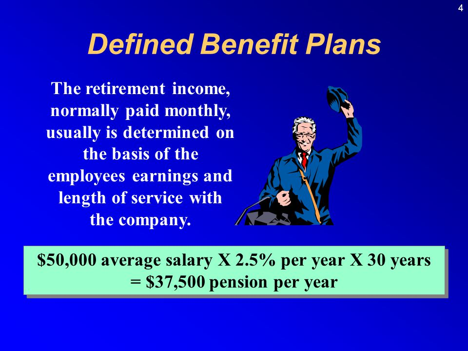 5 Most companies design their pension plans to meet the Internal Revenue Code qualifications, which state that: 1.Employer contributions are deductible for income tax purposes when paid.