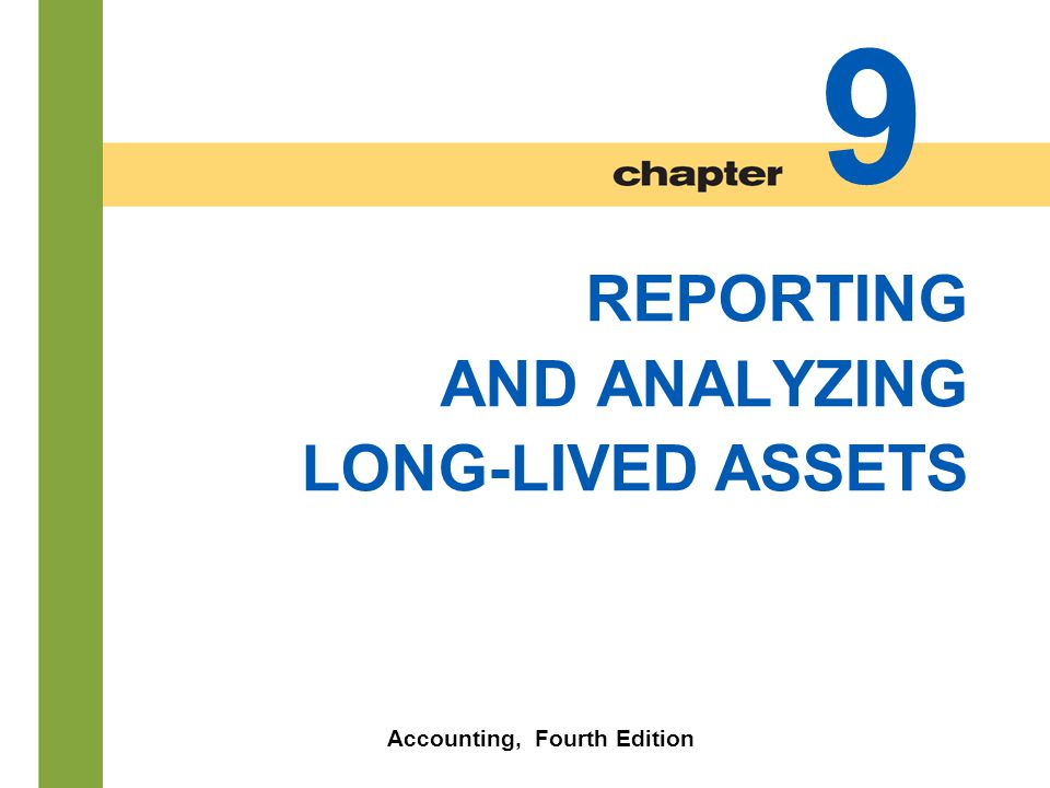 Chapter 9-23 Straight-Line  Expense is same amount for each year.