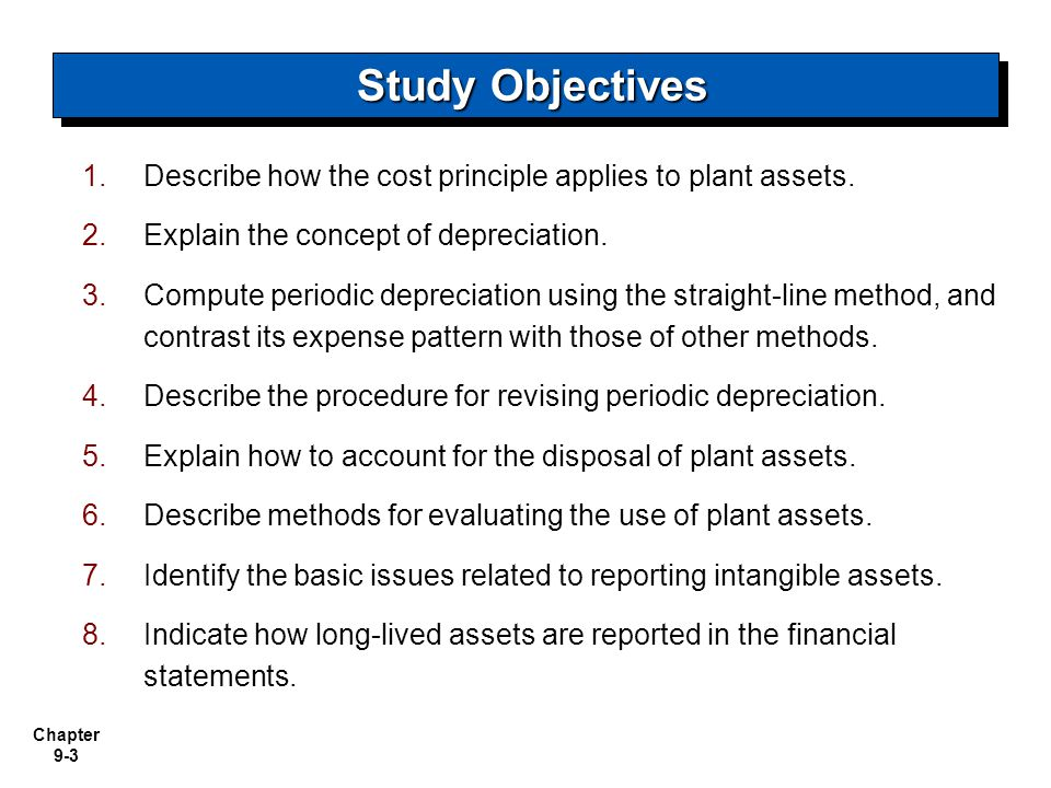 Chapter 9-64 Statement Presentation of Long-Lived Assets A difference between accrual-accounting net income and net cash provided by operating activities is caused by depreciation and amortization expense.