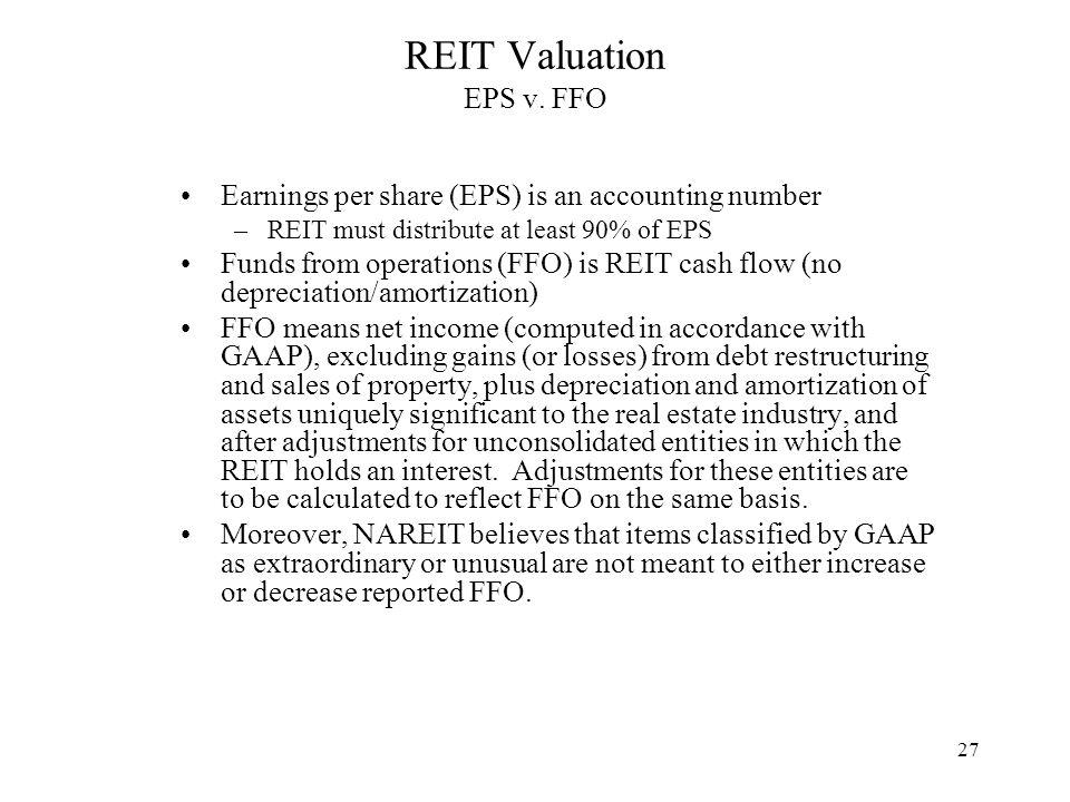 27 REIT Valuation EPS v.