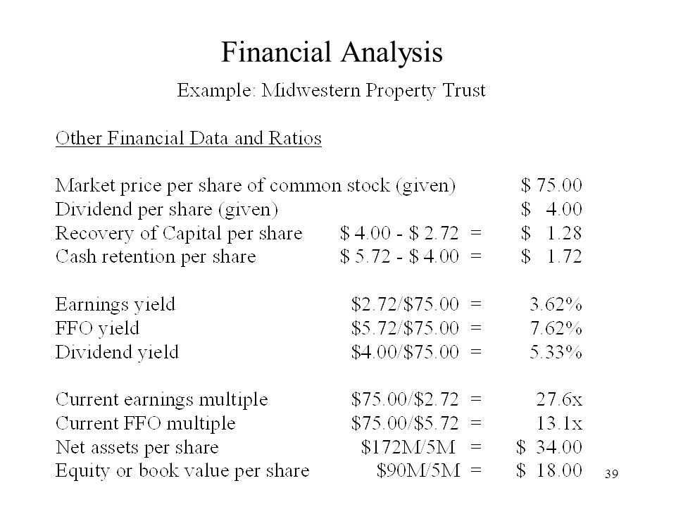 39 Financial Analysis