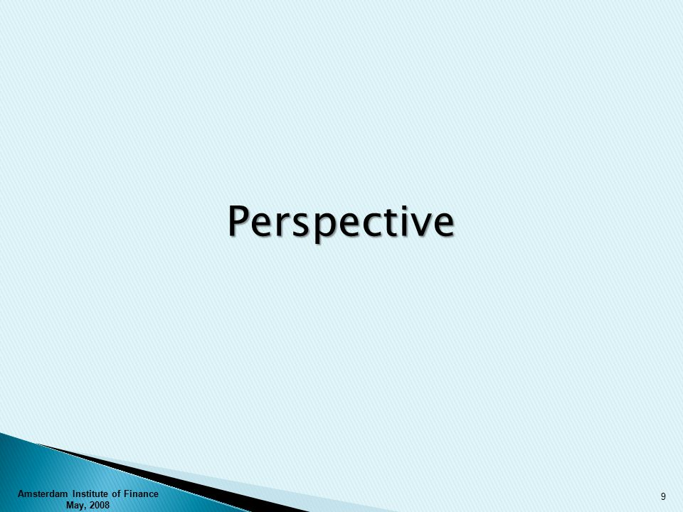 Perspective 9