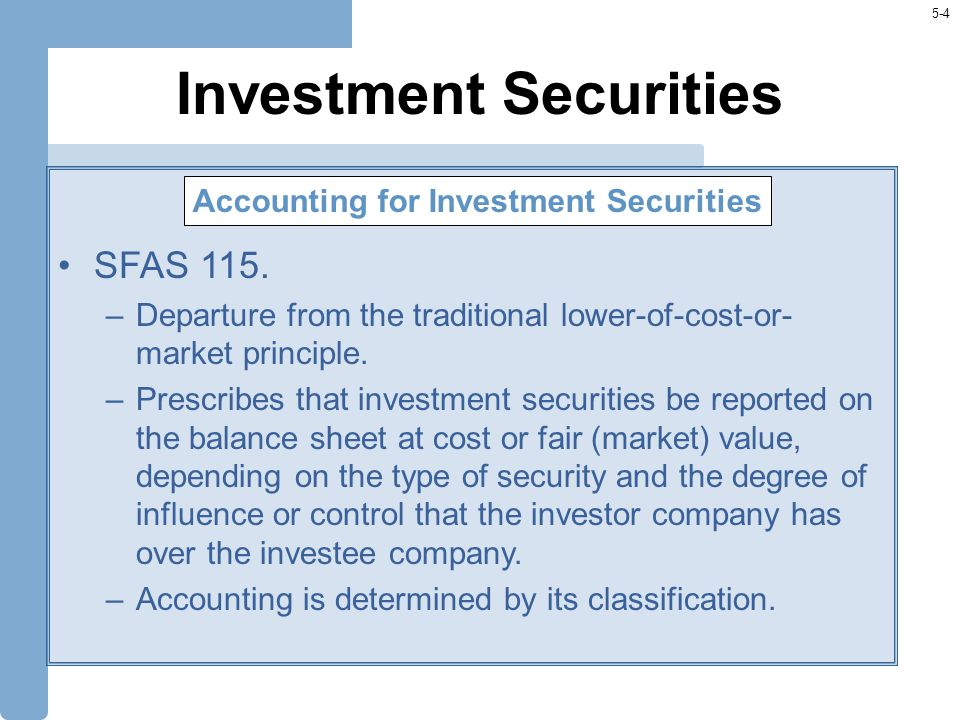 5-35 Derivative Securities