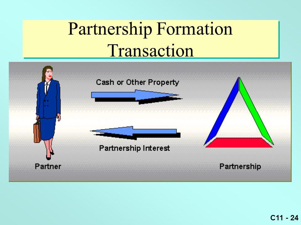 C11 - 24 Partnership Formation Transaction