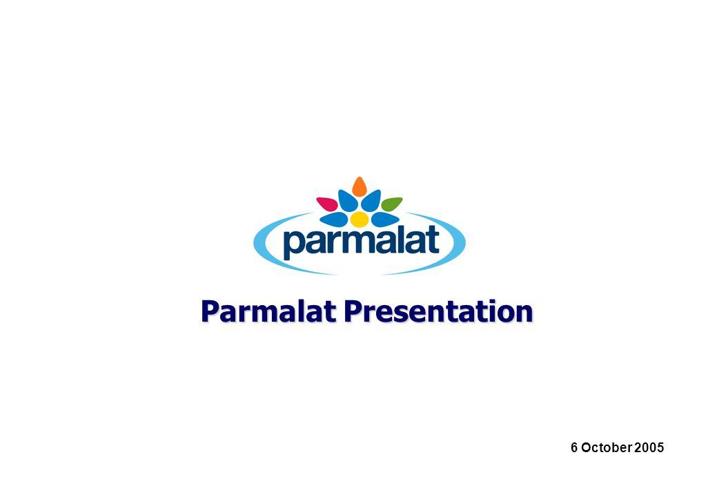 Parmalat Presentation 6 October 2005